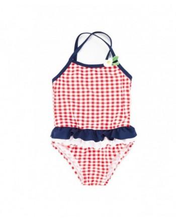 7 Mi Swimsuits Girls Piece Bathing