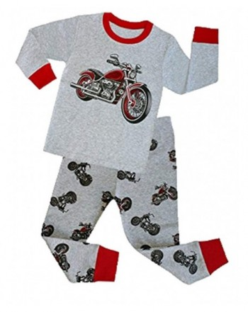 Mengmeng Pajamas Sleeve Motorcycle Pyjamas