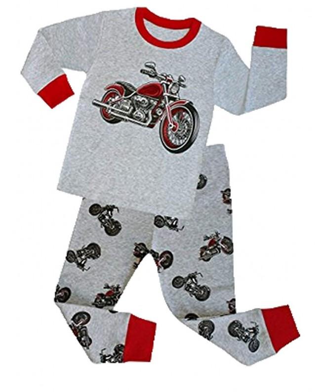 Mengmeng Pajamas Sleeve Motorcycle Pyjamas