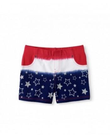 Assorted Girls Patriotic Americana Shorts