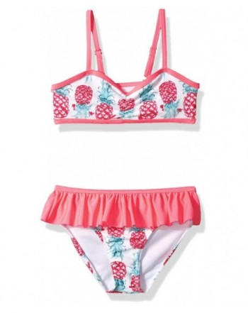 Jantzen Girls Warm Pineapple Bikini