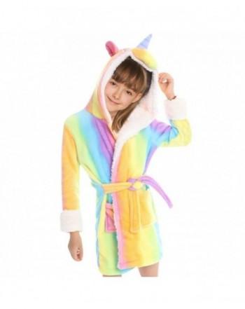 Standie Bathrobe Unicorn Sleepwear Nightgown