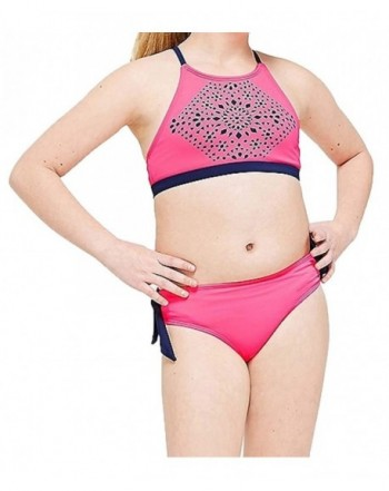 Justice Girls High Bikini Swimsuit