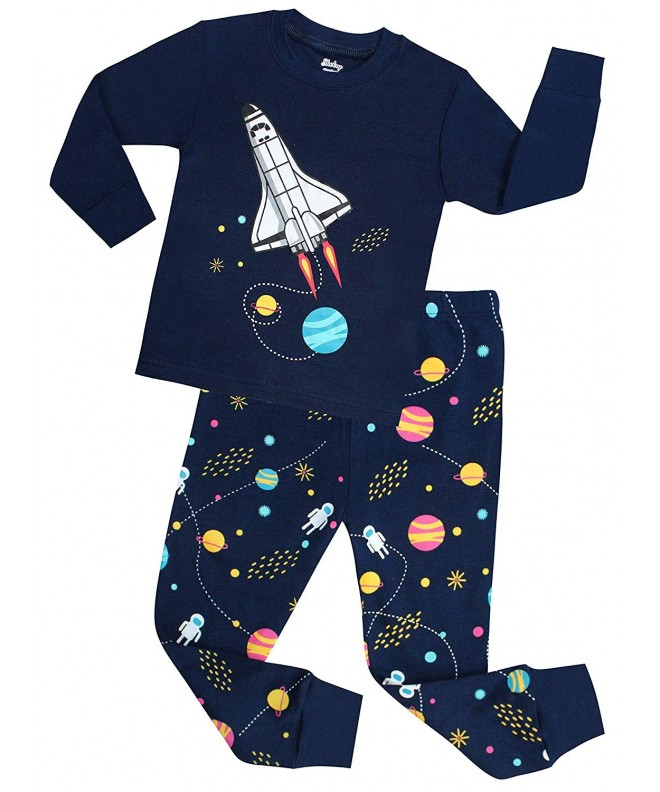 shelry Rocket Pajamas Children Christmas