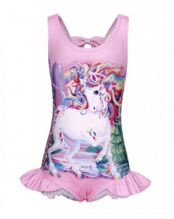 AmzBarley One Pieces Swimwear Unicorn Swim