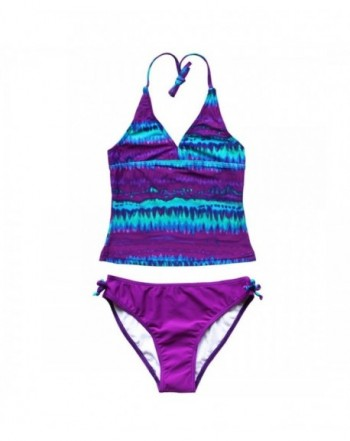 YOOJIA Tie Dye Bottoms Swimwear Swimsuit