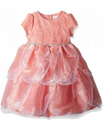 Nannette Girls Toddler Petal Dress