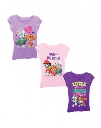 Nickelodeon Little Patrol T Shirt Bundle