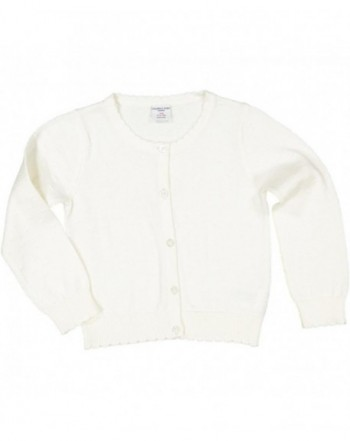 Polarn Pyret Pointelle Cardigan Sweater