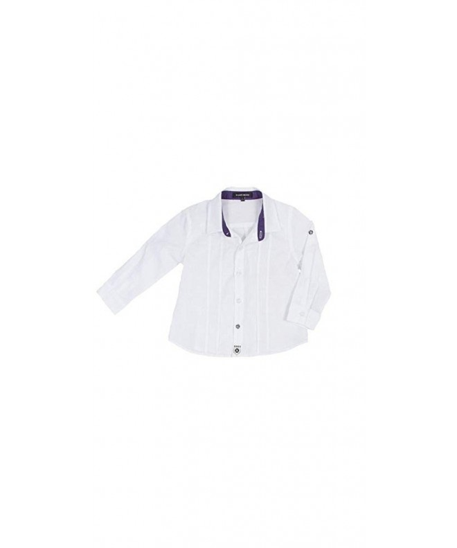 Petit Society Little Casual White
