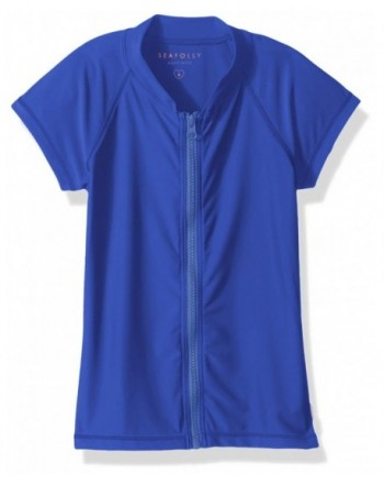 Seafolly Girls Short Sleeve Rashguard