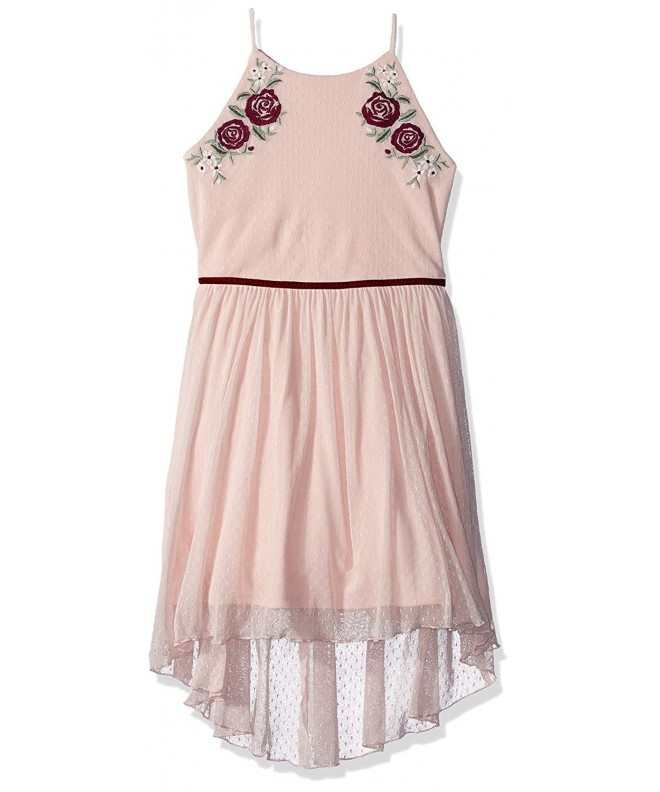 Amy Byer Girls High Low Applique