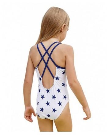 Cheap Girls' One-Pieces Swimwear