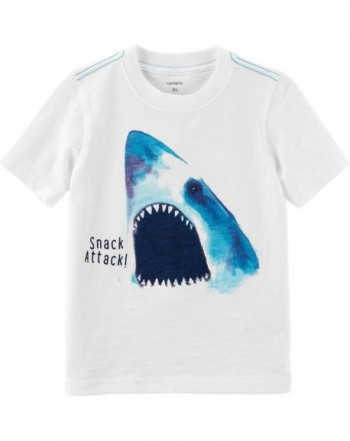 Carters Short Sleeve Shark Attack