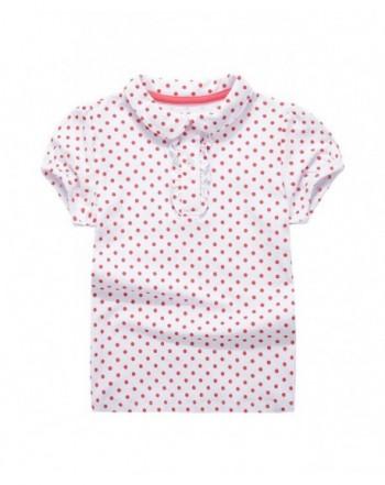 UNACOO Toddler Shirts Collar Sleeves