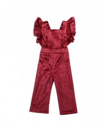 YOUNGER TREE Toddler Jumpsuit Overalls