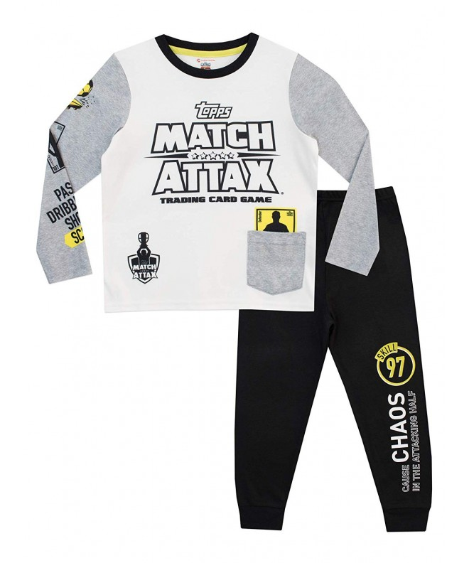 Match Attax Boys Soccer Pajamas