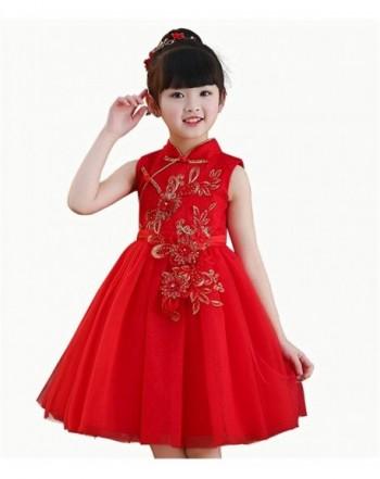 Face Dream Cheongsam Embroidery Princess