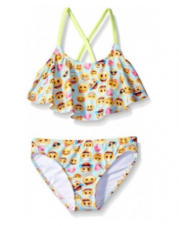 Freestyle Girls Flounce Giggles Swimsuit