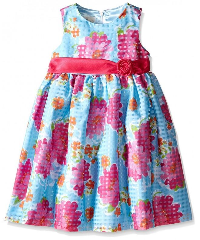 American Princess Girls Shantung Dress