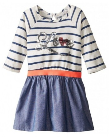 Rare Editions Little Striped Chambray
