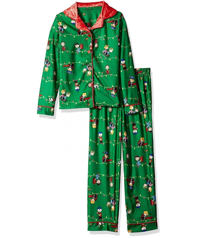 Peanuts Girls Holiday Style Pajama