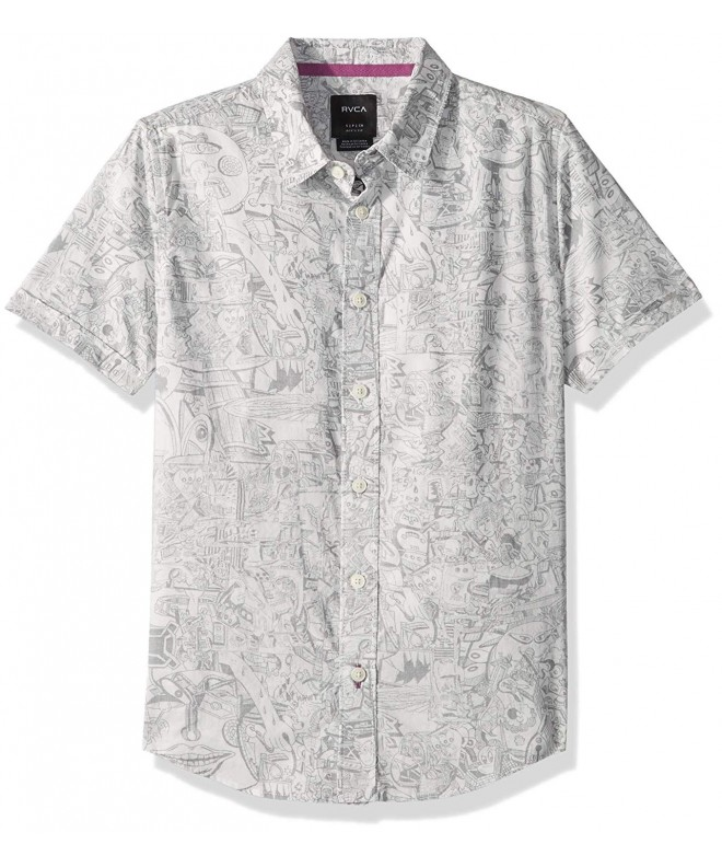 RVCA Grillo Short Sleeve Button