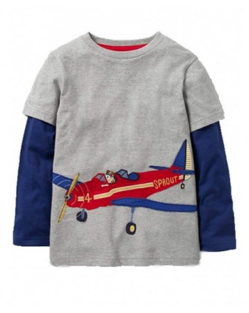 Mengmeng Little Cotton Aircraft T Shirts
