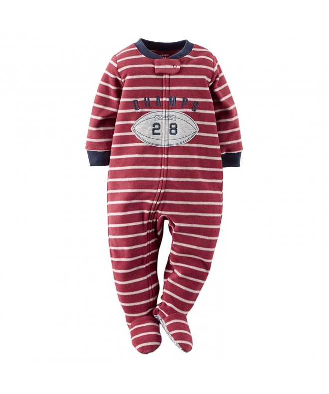 Carters Footed Fleece Sleeper Pajamas