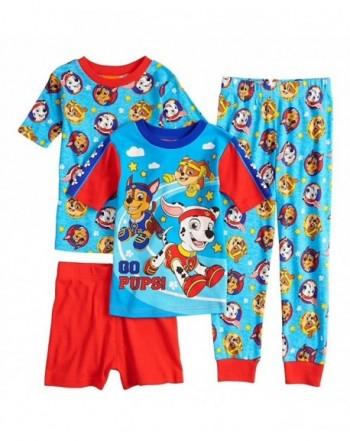Patrol Boys 4 Piece Pajama Size