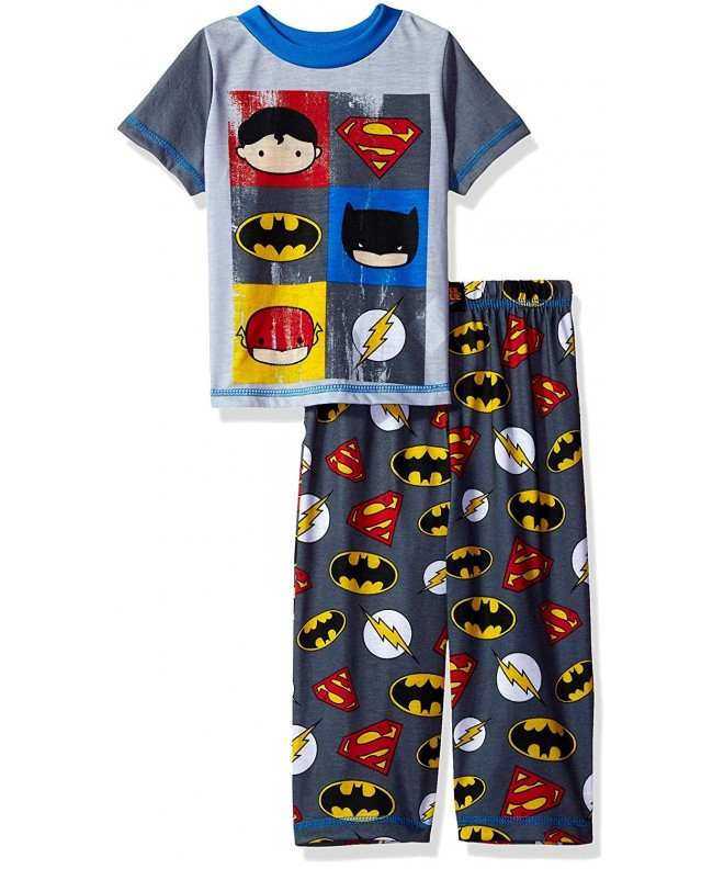 Justice League Boys 2pc Sleepwear