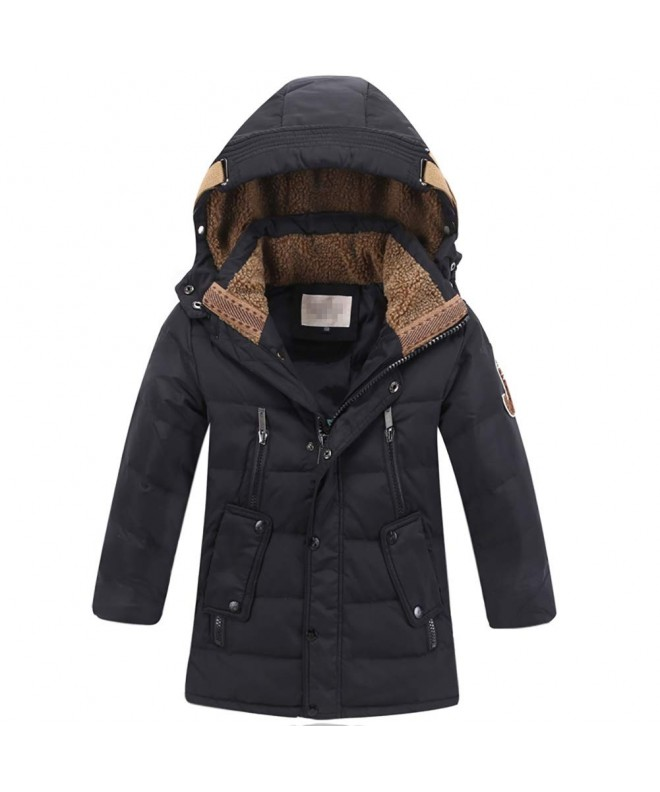 LISUEYNE Winter Hooded Puffer Mid Long