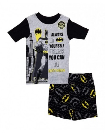 Batman Summer Pajamas Boys Black