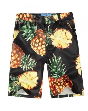 SSLR Pineapples Casual Hawaiian Shorts