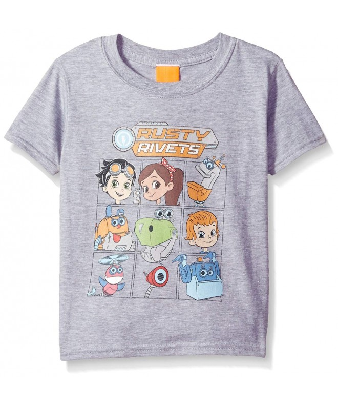 Nickelodeon Little Character T Shirt Heather