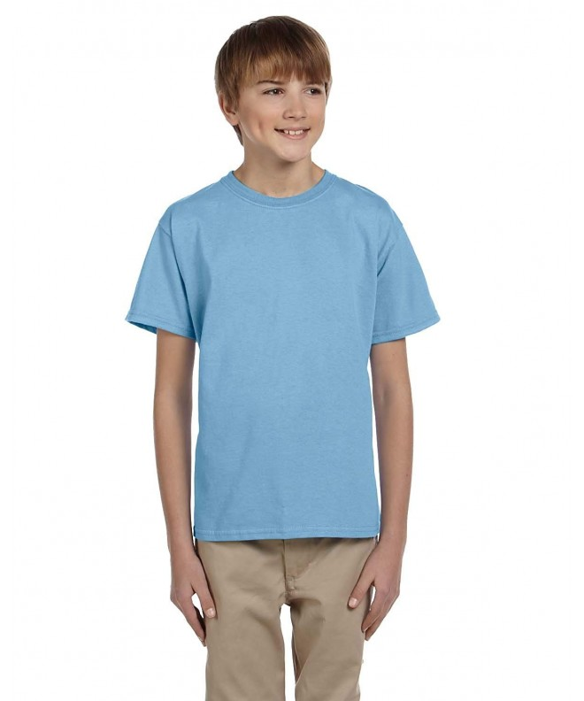 Fruit Loom Collar Half Sleeve T Shirt