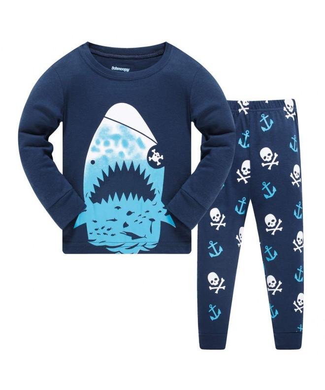 Schmoopy Boys Shark Pajamas Years