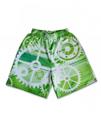 Lacrosse Threads Gears Shorts Green