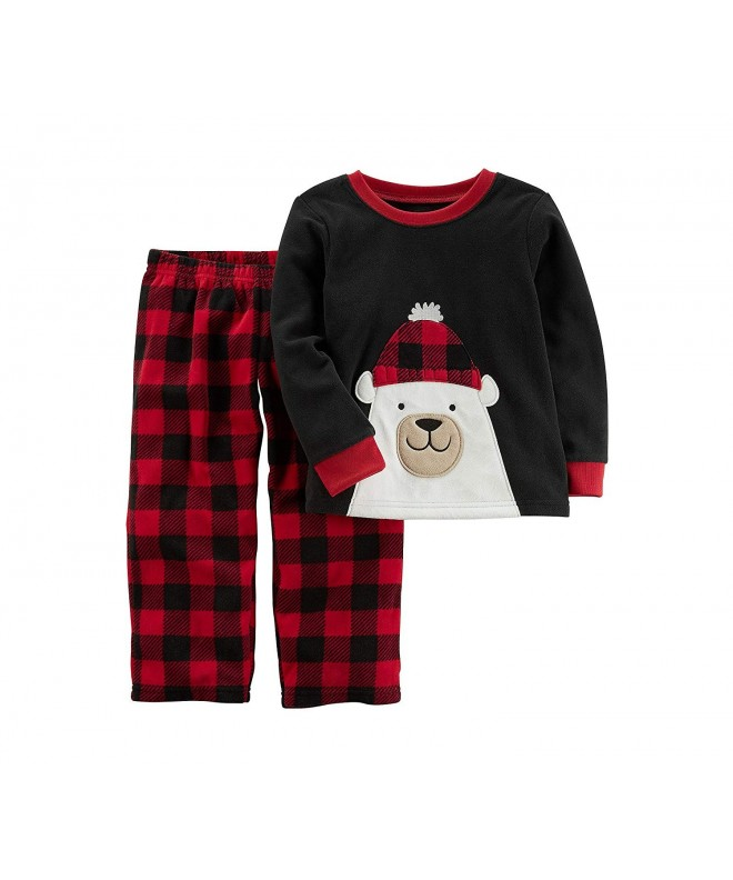 Carters 2T 4T Christmas Fleece Pajamas