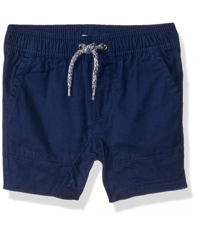 Crazy Drawstring Woven Frayed Short
