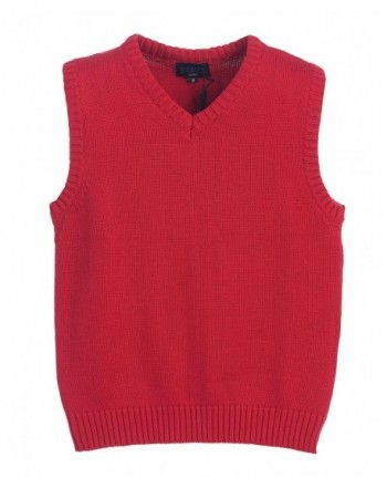 Gioberti V Neck Knitted Pullover Sweater