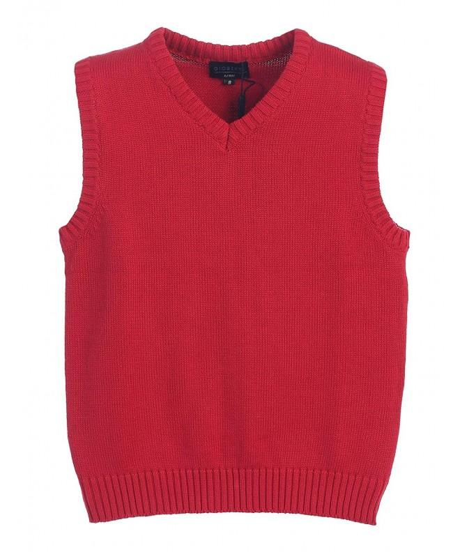 Gioberti V Neck Knitted Pullover Sweater
