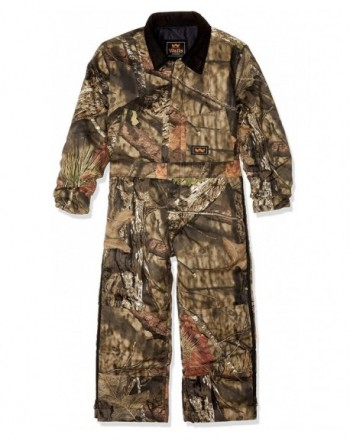 Walls Boys Camo Insulated Coverall