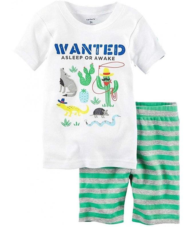 Carters Boys Western 3 Piece Pajama