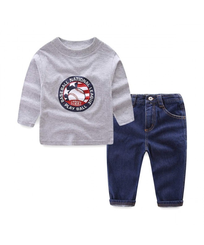 Mud Kingdom Outfits Baseball Pattern