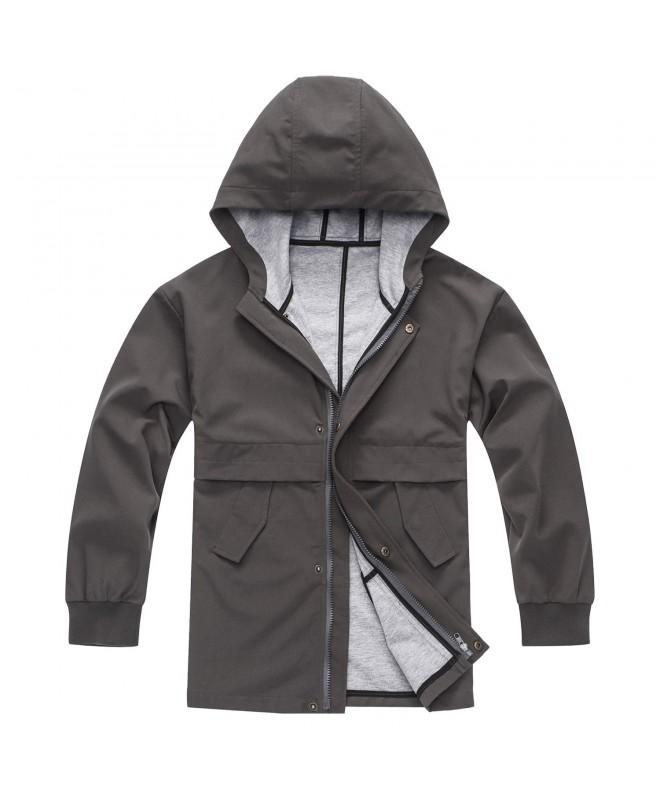 BINPAW Hooded Waterproof Outdoor Jacket
