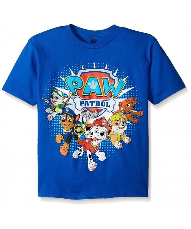 Patrol Little Group T Shirt Royal