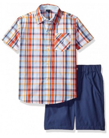 Nautica Piece Sleeve Shirt Shorts