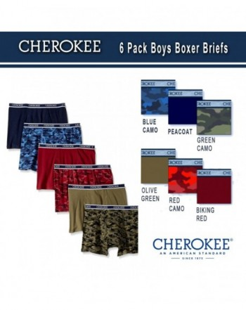 Cherokee Boys Pack Boxer Brief