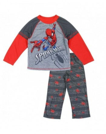 Spiderman Boys Layer Sleeve Pajama